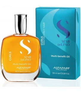 Alfaparf Semi Di Lino Enhancing Curls Multi-benefit Oil - 100ml