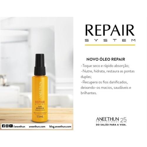 Aneethun Repair Óleo Reparador de Pontas  - 55ml