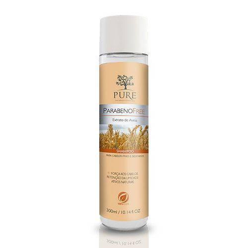 Pure Extrato de Aveia Parabeno Free Shampoo - 300ml