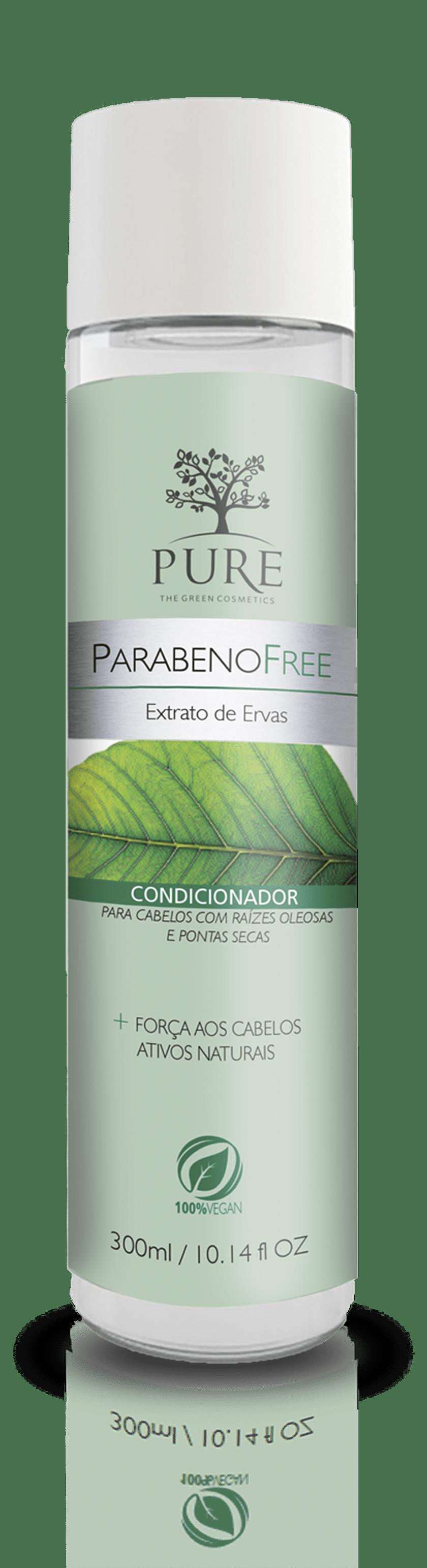 Pure Extrato de Ervas Parabeno Free Condicionador Fortificante - 300ml