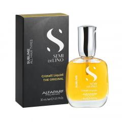 Alfaparf Semi Di Lino Sublime Cristalli Liquidi - Óleo Capilar 30ml