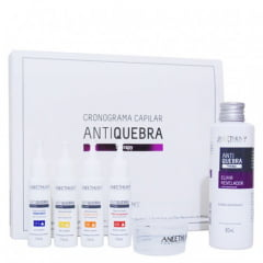 Aneethun AntiQuebra Kit Cronograma Capilar  - 120 ml