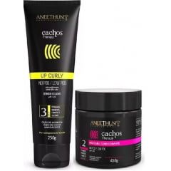 Kit Aneethun Cachos Therapy  Máscara 450g + Definidor de Cachos 250g