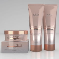 Kit K.Pro Regenér Home Care Trio - Shampoo + Condicionador + Máscara