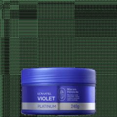 Lowell Violet Platinum - Máscara Matizadora -  240g