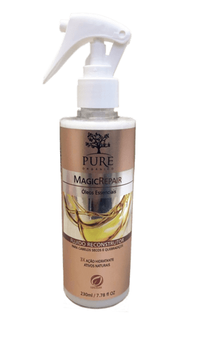 Pure Óleos Essenciais Magic Repair Fluido Reconstrutor - 230ml